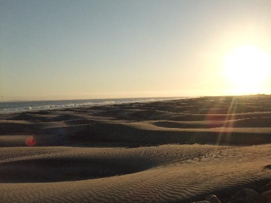 The beautiful beaches of San Quintin