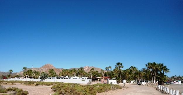 The RV park at Hotel Serenidad