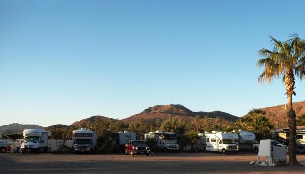 The RV park at Serenidad
