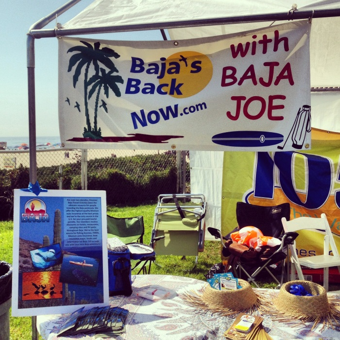Discover Baja at Baja Joe's Baja's Back Now booth!