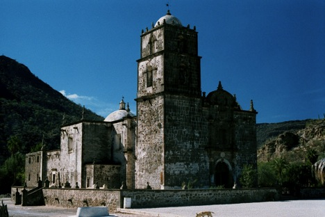 San Javier in 2001. Photo by Jack Swords.