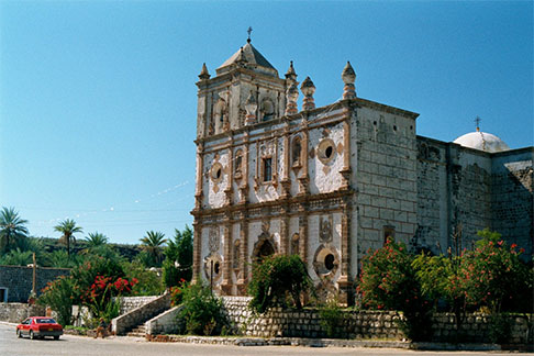 The Spanish Missions On The California Peninsula