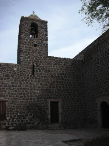 The Mulegé mission in 2007. Photo by David Kier.