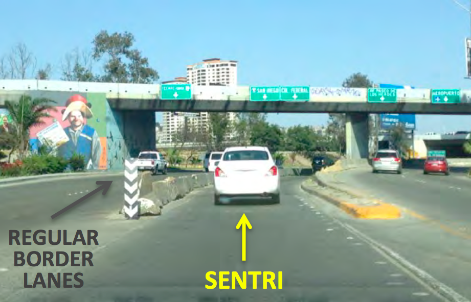 Directions to the SENTRI Lane at San Ysidro | Discover Baja Travel ...