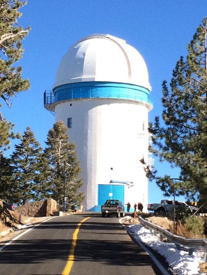 National Observatory San Pedro Martir - www.discoverbaja.wordpress.com