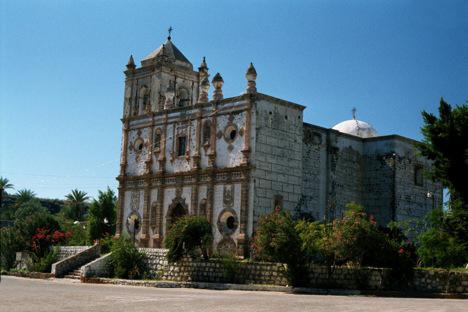 San Ignacio Mission in 2001. Photo by Jack Swords.