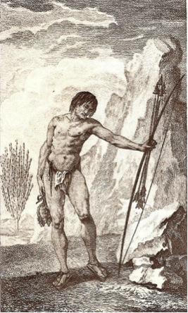 Native Californian by Jakob Baegert in 1772.