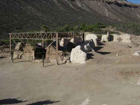 Protected adobe ruins by David Kier in 2009.